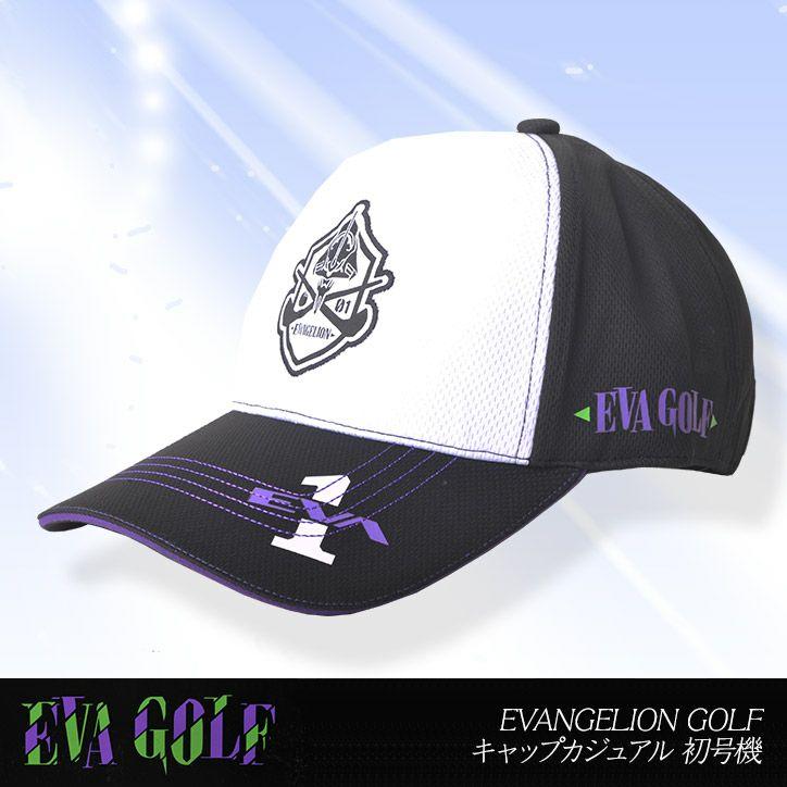 エヴァンゲリオン キャップ カジュアル 初号機  エヴァゴルフ EVA GOLF EVANGELION GOLF1